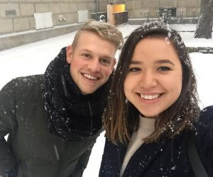 winter students